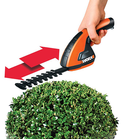 WORX WG800.1 3.6-Volt Lithium-Ion Cordless Grass Shear Hedge Trimmer