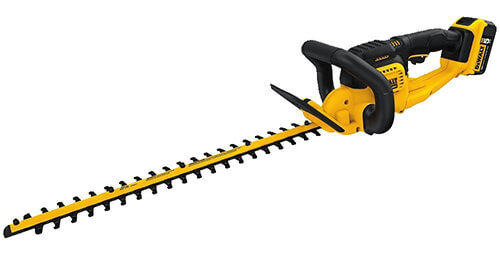 DEWALT DCHT820P1 Battery Powered Hedge Trimmer