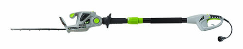 Earthwise electric pole hedge trimmer